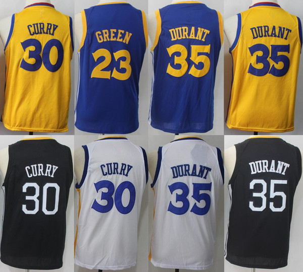 classic fit 5fbea c0621 2019 2018 Kids Youth 35 Kevin Durant 30 Stephen Curry Jerseys 23 Draymond  Green Jerseys 100% Stitched Jerseys Size: S XL From Hbqjersey, $15.35 | ...