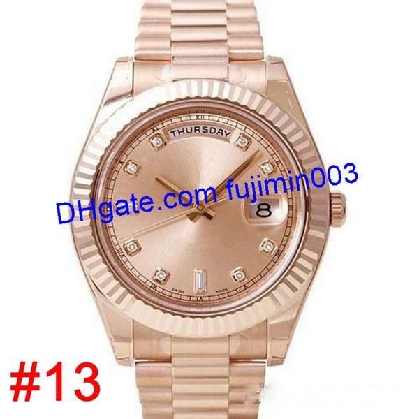 # 13 in oro rosa (nessuna scatola)