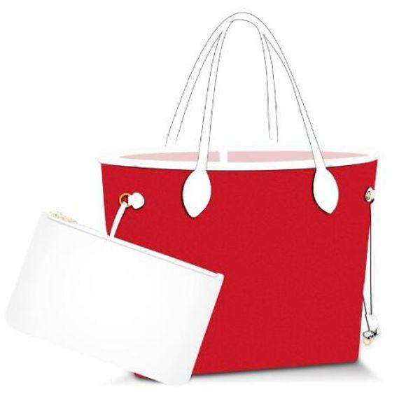 Flower Letters Shopping Bag Real Leather Clutch Shoulder Bag Totes Designer Handbags Women Presbyopic Clutch Purse Shopper Bags