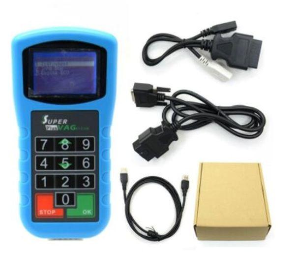 Super VAG K + CAN Plus 2.0 для VAG Диагностический сканер Инструмент коррекции пробега для AudiVW Auto Key Programmer