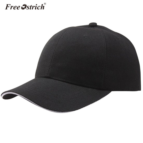 Berretto da baseball di struzzo cappello della protezione della maglia per le donne degli uomini papà casquette solido cappelli di gorras hombre classico hip hop caps b0520 # 46961