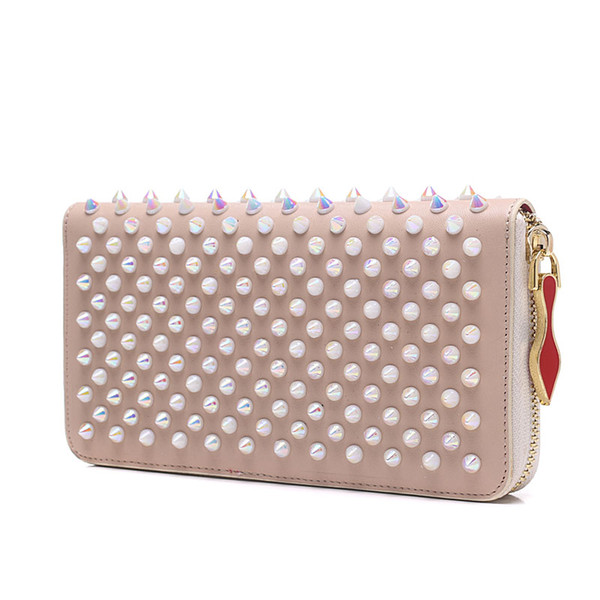 hotsale Fashion classic CL Designer Luxury Handbags purses for women Fashion Clutch Bags Zipper Leather with spike rivet Party Sac à main