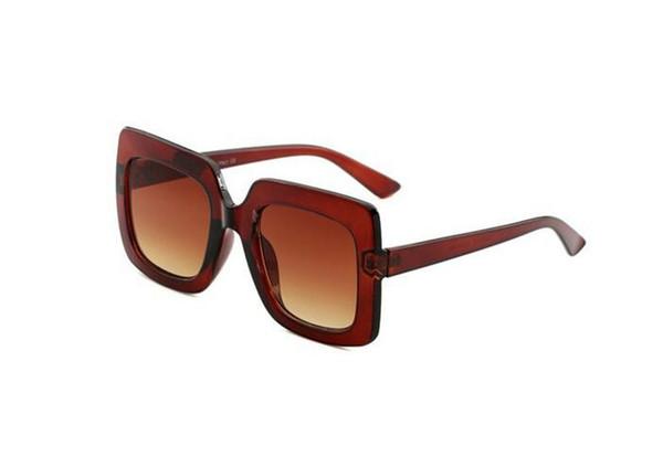 Top quality women New Square sunglasses 0328 catwalk multicolor glasses network explosion models sunglasses