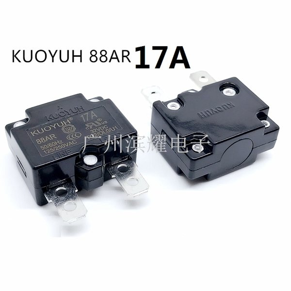 best selling Taiwan KUOYUH 88AR-17A Overcurrent Protector Overload Switch Automatic Reset