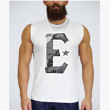 Brand mens Gyms Tank Tops Clothing Summer Cotton Slim Fit Sleeveless shirts Men Bodybuilding Undershirt Golds Fitness tops tees