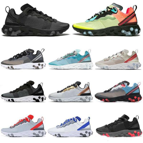SICAK tepki elemanı 8 Açık 7 koşu ayakkabıları erkekler kadınlar Antrasit Işık Kemik üçlü siyah beyaz KIRMIZI YÖRÜNGE moda eğitmenler spor Sneake mens