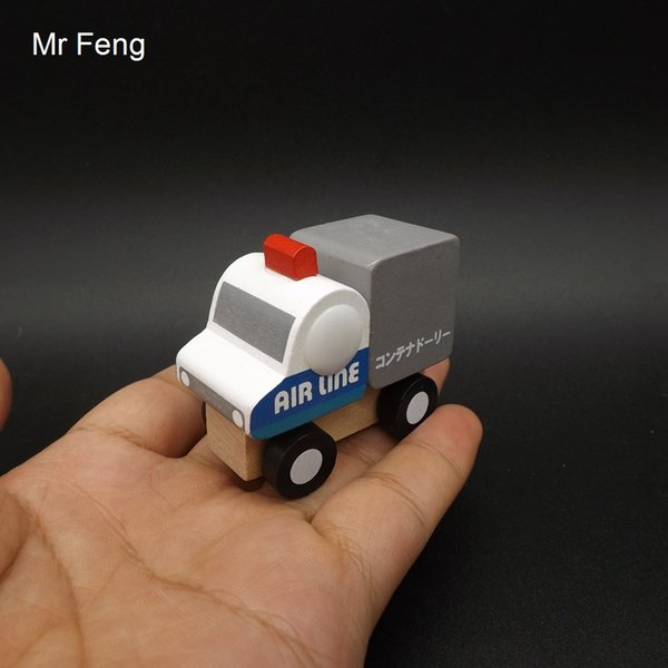 Fun Mini Cruiser Air Line Traffic Toys Kids Wooden Car Juego de aprendizaje temprano (Número de modelo I141)