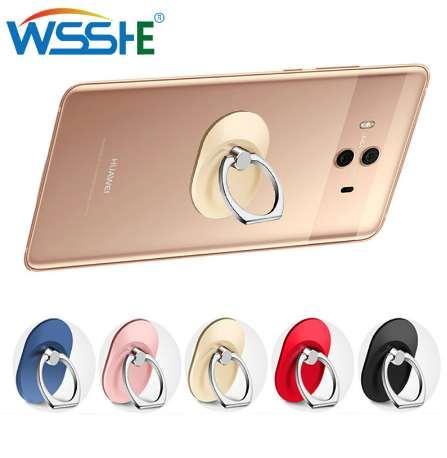 Soporte del teléfono del dedo del amor del sostenedor del teléfono del dedo del soporte redondo Grip Mount enviado para el iphone X 8 Samsung S9 soporte del teléfono celular soporte seguro