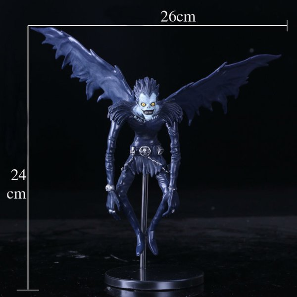 hxldollstore New Death Note L Ryuuku Ryuk PVC Action Figure Anime Collection Model Toy Dolls 24CM