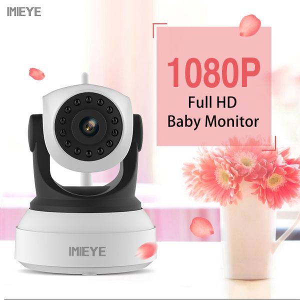HD 720 P 1080 P IP Kablosuz Wifi Kamera CCTV IR Kızılötesi Nany Mini Babyfoon PTZ Güvenlik Video Gözetim Bebek Monitörü kamera