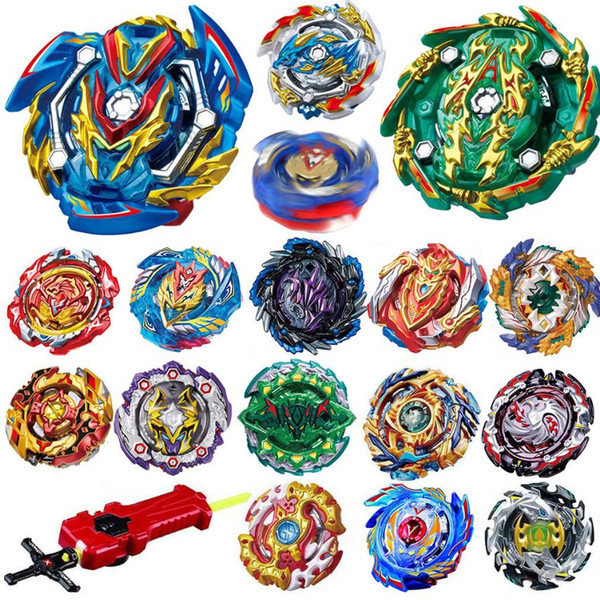 top popular Newly All Models Launchers Beyblade Burst GT Toys Arena Metal God Fafnir Spinning Top Bey Blade Blades Toy 2020