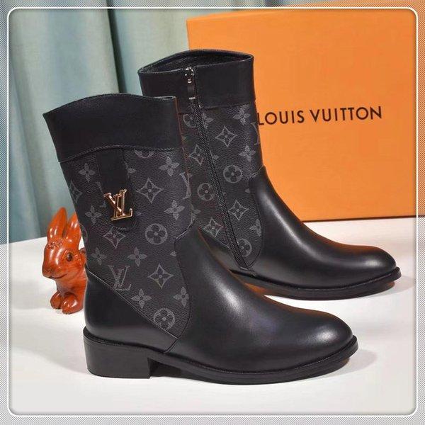 das mulheres de alta qualidade botas casuais primavera luxo e outono botas viajar sapatos femininos caixa de embalagem original entrega rápida