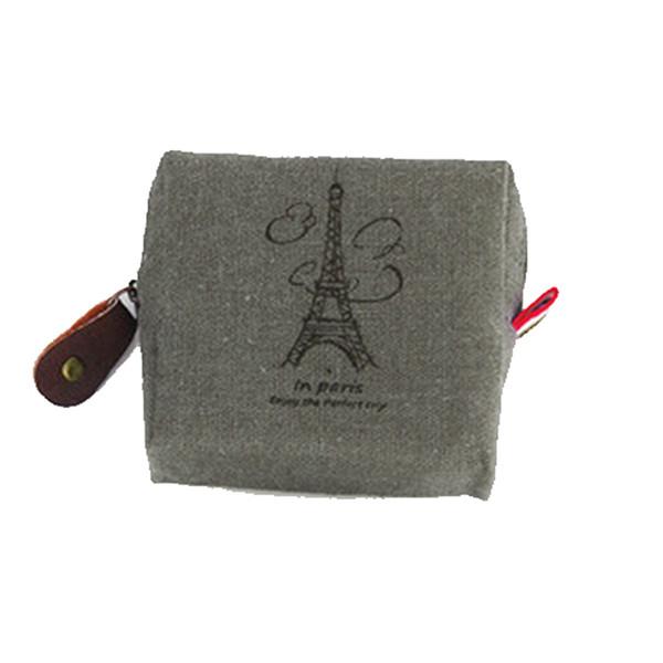Nouveaux sacs de mode Sacs à main femmes Vintage toile porte-monnaie porte-monnaie porte-monnaie dames shopping portefeuilles sac neuf