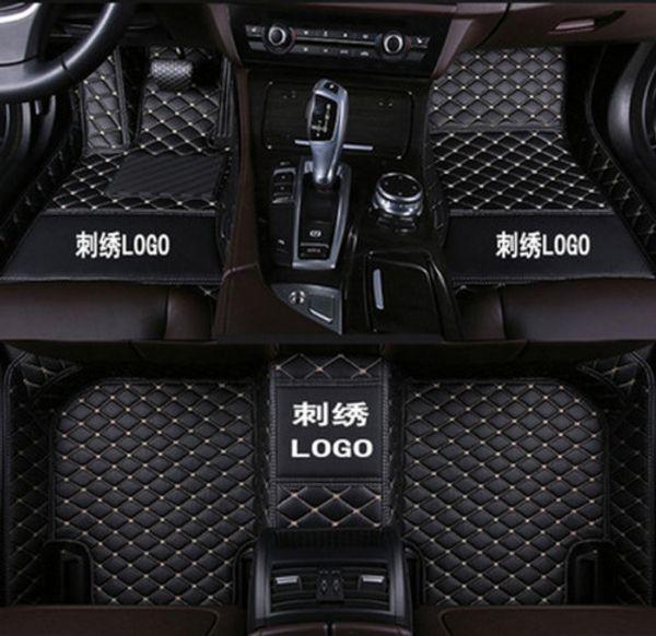 tappetino da auto per Nissan GT-R 2012 ~ 2016 inodore facile da pulire lusso tappetino per tutte le stagioni