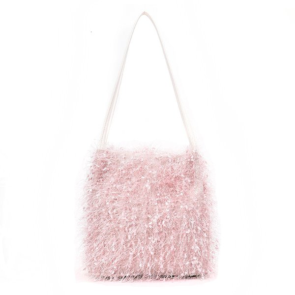 Sweet Lady Tassel bag 2019 New High Quality Fur Women's Designer Handbag Casual Travel Shoulder Messenger Bag Purses Bolsas