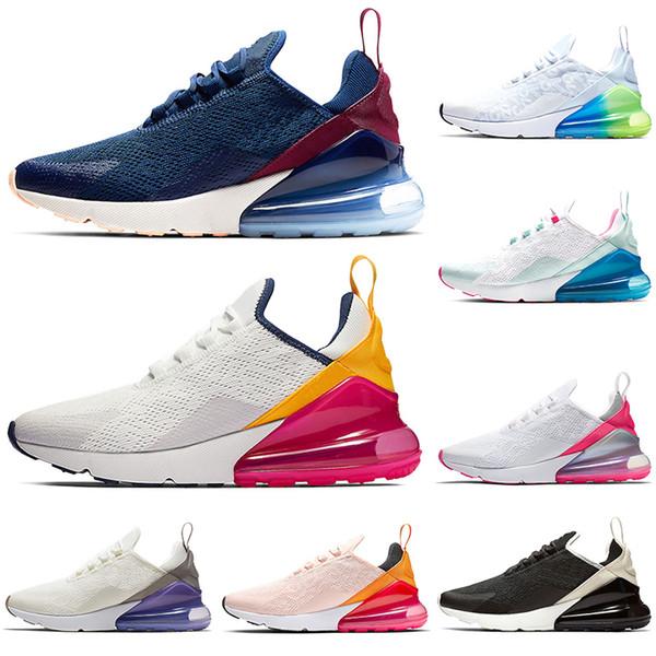 Hot Sale Running shoes men women Easter Sunday Black White Fuchsia Navy Blue All-Over Athletic designer men trainers sports sneakers runner