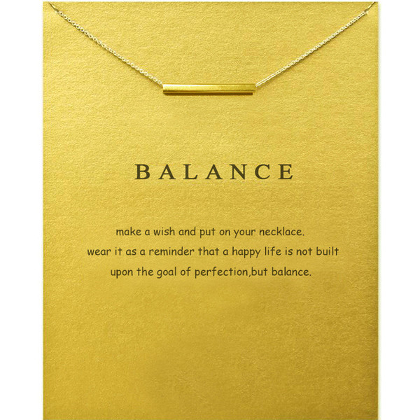 vintage balance hollow bar pendant choker necklace for women fashion gold color pearl card turkey jewelry