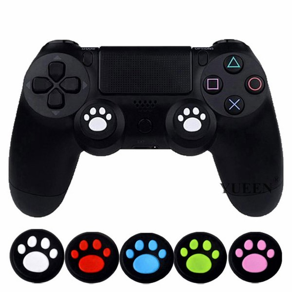 Silikon Analog Thumb Çubuk Sapları Kapak Playstation 4 Için PS4 Pro Slim Için PS3 CONTROLLER Thumbstick Xbox 360 One Için Caps