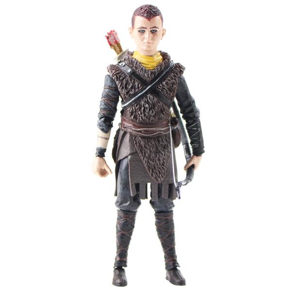 14cm Neca Dieu de la guerre Kratos Son Atrée Figurine Jouet Poupée Modèle Cadeau