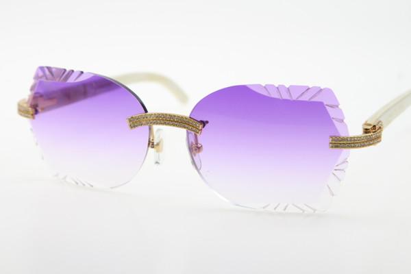 Золото Фиолетовый объектива