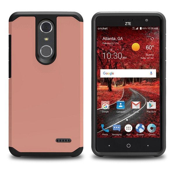 Dual Layer Slim Armor Combo Case for ZTE Z963U Imperial max/Z988 Grand x max 2/Zmax Pro/Z981 Cover Shockproof Protective Shell