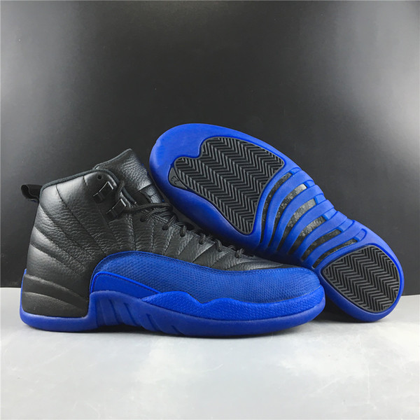 Wholesale New 2019 OG Game royal XII blue black 12s high men basketball shoes outdoor trainers top quality free shipping size 7-13