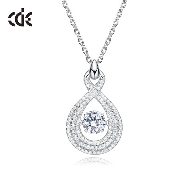 wedding party silver s925 beaded pearl gift woman lady diamond jewelry charms for bride acting initiation graduation cde-793 - from $29.35