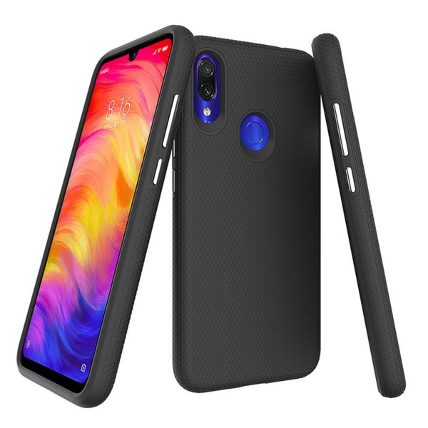 For Xiaomi Redmi Note 7 Pro Case Hard Cover Hybrid Dual Layer Protector Rugged Non-Slip High Impact Resistant