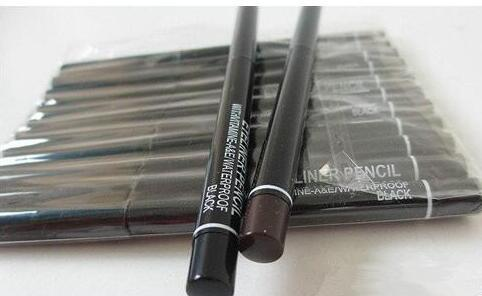 best selling FREE SHIPPIN HOT good quality Lowest Best-Selling good sale NEW Makeup Automatic rotating and telescopic waterproof eyeliner black and brown