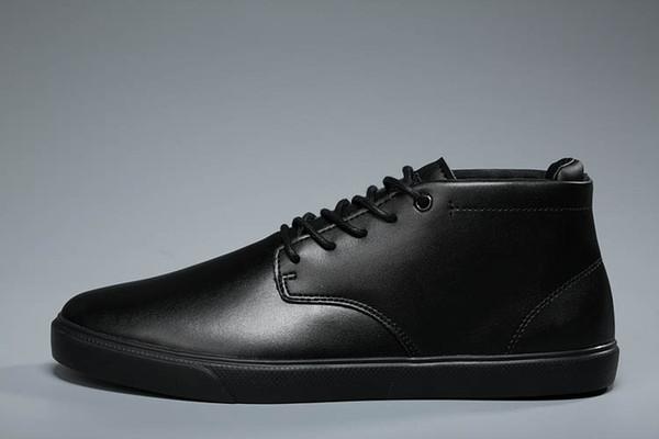 2019 Top-Qualität Männer neue europäische Modemarke Iocoste csaual Schuhe schwarz weiß rot blau klassische Wohnungen Größe 40-45