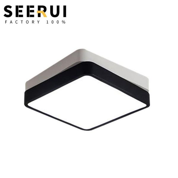 Nueva moderna iluminación de techo LED simple sala de estar dormitorio iluminación necesaria en casa
