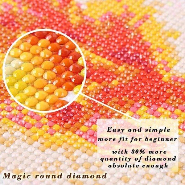 Color:MAGIC ROUND DIAMOND