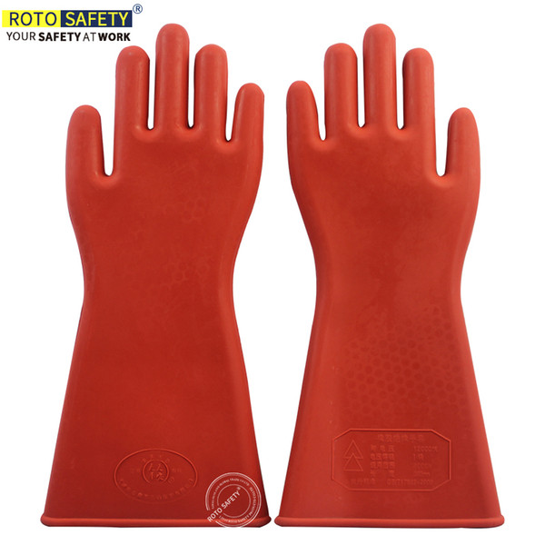 new concept attractive price sale retailer 2019 Insulated Gloves Rubber 12KV Safety Electrical Protective Work Gloves  From Dlglobal, $9.95   DHgate.Com