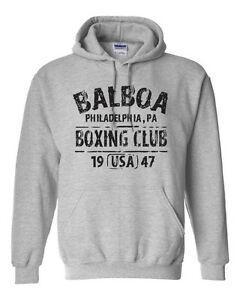 BALBOA BOXING CLUB ROCuCustomomY Фильм Ретро Набор Тренажерный зал Мужчины 039 с капюшоном