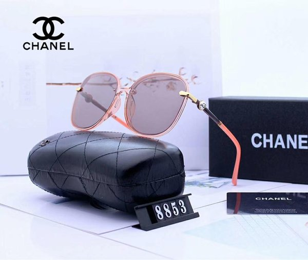 designer sunglasses luxury sunglasses fashion women glasses Car driving UV400 Adumbral glass with Box and Logo 8853 high quality