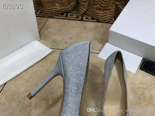 New upgraded water drill series single shoes,Exclusive custom actress with the same style,Go with business dress heels