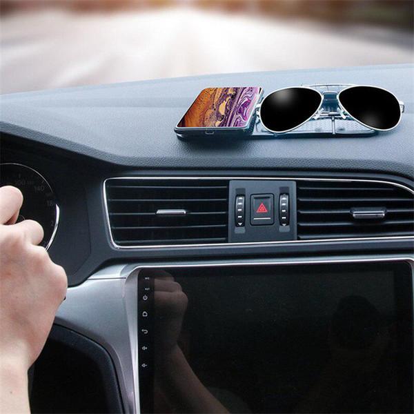 Multi-função Folding Car Painel antiderrapante Paste Mat armazenamento Pad Painel de telefone suporte do carro de armazenamento Pad para o telefone móvel