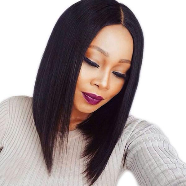 Parrucche dei capelli umani anteriori del merletto di prezzo di fabbrica Parrucche piene brasiliane del taglio dei capelli di Remy del grado brasiliano Parrucche piene per le donne nere Xiuyuanhair