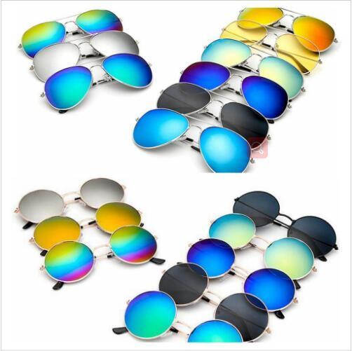 Солнцезащитные очки лягушка Конструктор Sunglass Светоотражающие очки Зеркало ретро Урожай ВС очки Открытый Классический очки Горячие очки 41 Цвет B5908