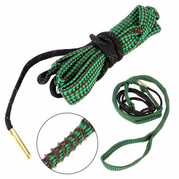 best selling Cleaner Kit Rope 5.56mm Calibre Bore Snake 12 Calibre Rifle Barrel Boresnake Hunting Accessories