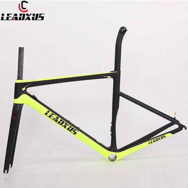 LEADXUS CLA550 Ultra Light Carbon Road Frame T1000 Road Bicycle Frame Carbon Fiber Bike Frame 44/49/52/54/56/58cm