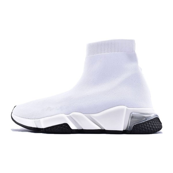 clear sole white black