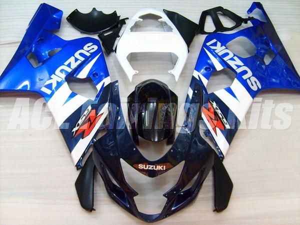 2020 Новый ABS мотоцикл велосипед обтекатели комплекты Fit для Suzuki GSXR600 750 600 750 K4 2004 2005 04 05 кузовостроение набор белого синий