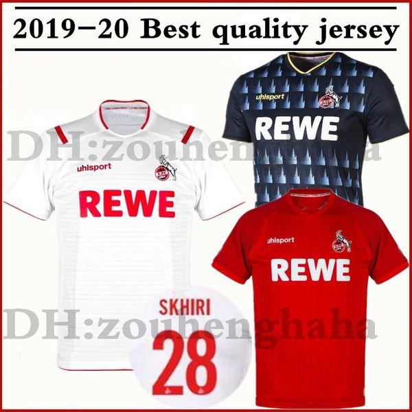 2019 2020 1. Maillots de football FC Köln SKHIRI 19 20 à domicile troisième maillot de football MERÉ HECTOR MODESET Verstraete DREXLER maillots de foot