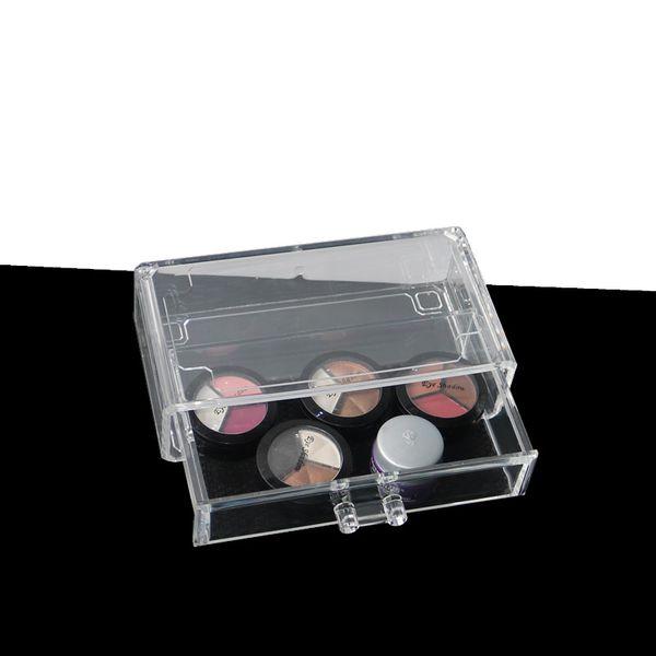 Clear Acrylic Drawer Makeup Organizer Jewelry Storage Box Cosmetic Brush Storage Case Multifunction Cosmetic Desk Organizer