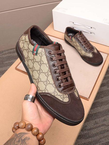 2020 SQ neue hochwertige Designer-Herren-High-End-Luxus bequem bequeme beiläufige Turnschuhe Leder