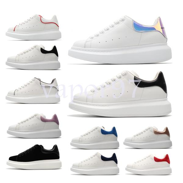 2019 best designer brand men women fashion leather oversized Alexander platform increase mcqueens casual shoes mens quality sneakers