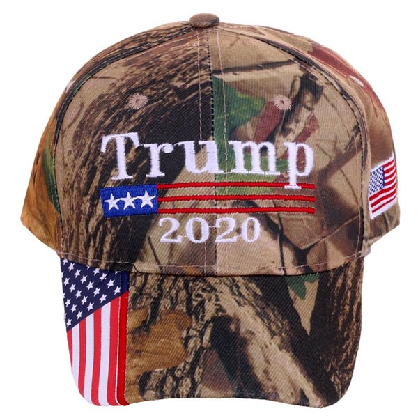 Trump 2020 Hat Keep America Great Military Camo Embroidered USA Flag MAGA  Cap Fashion Women Men Baseball Cap 47 Brand Hats Vintage Baseball Caps From