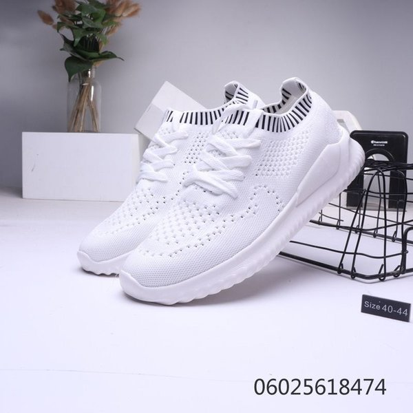 High elasticity easy shoes men cozy breathable soft sole running leisure south Korean version of the trend of youth new sports running s