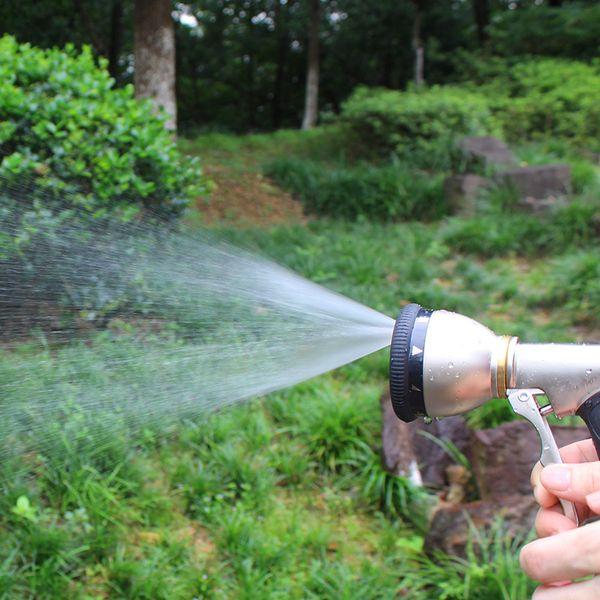 Multifunktions-Garten-Wasser-Gewehr für Autowäsche Hochdruck Durable Hand Düse Gun Bewässerung Einpflanzen Spray besprühen Werkzeuge